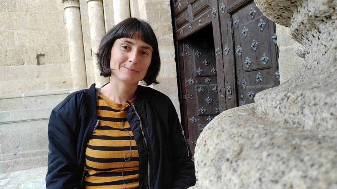 Restauración del cuadro del prebisterio de la catedral de Ciudad Rodrigo