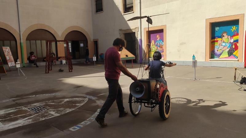 ciudad rodrigo con niños