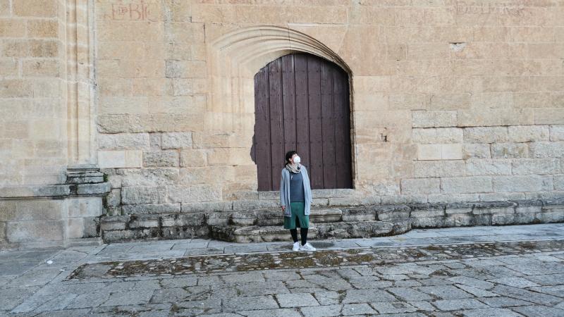 La puerta del esviaje de la Catedral de Ciudad Rodrigo