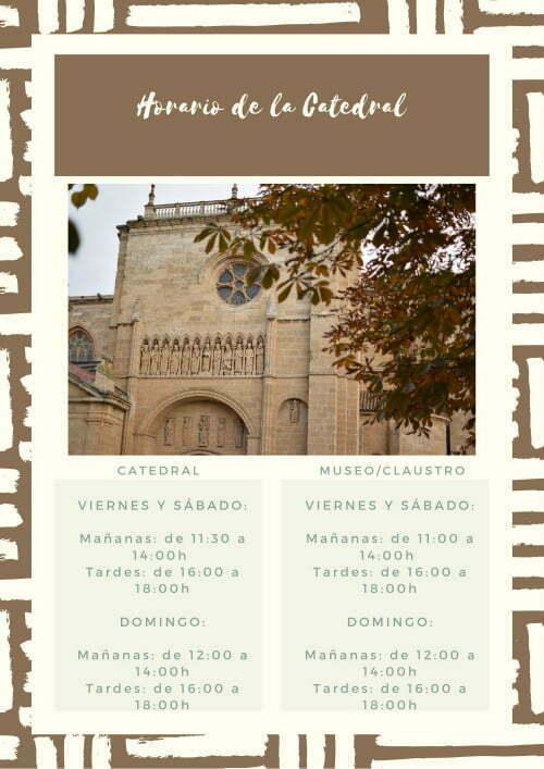 horario catedral