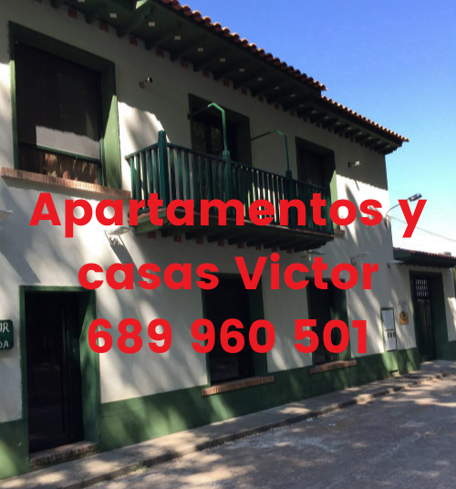 Apartamentos y casas Victor 689 960 501